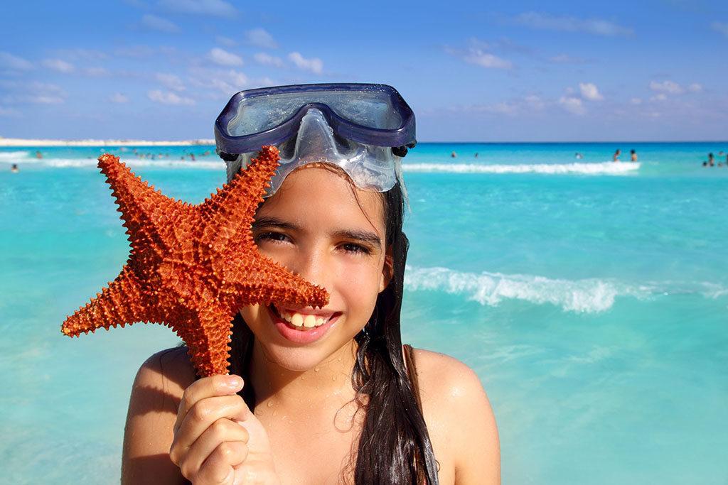 viajar a la Riviera maya con niños